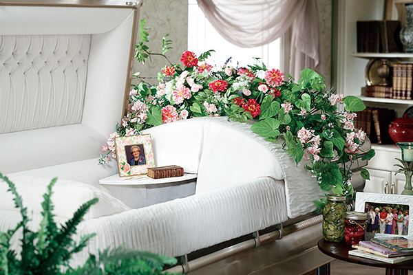 casket-with-shelf