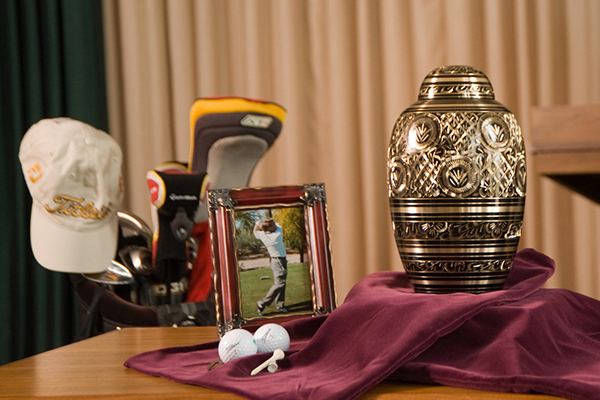 memory-display-at-funeral
