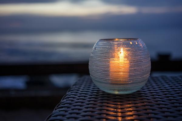 Evening Beach Candle