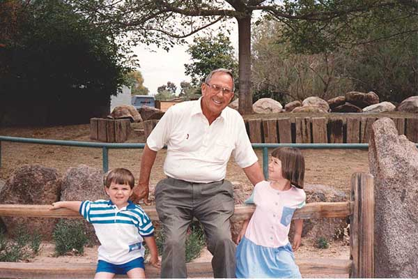Maggie and John Childhood Photo