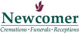 Graveside services at a cemetery