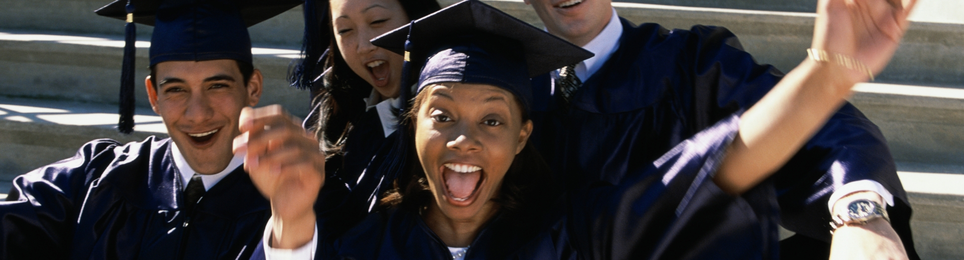 Graduates from school