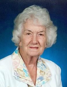 """Obituary photo of Laura """"Maxine"""" Baker, Dove, KS"""