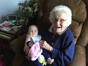 Obituary photo of Maxine Johnson, Dove-KS