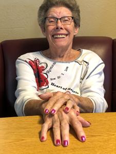 Obituary photo of Gwendolyn White, Dove-KS