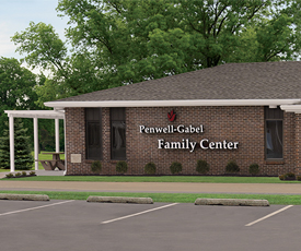 The Penwell-Gabel Family Center opens in Topeka as a place for families to gather and share a meal after the funeral service.