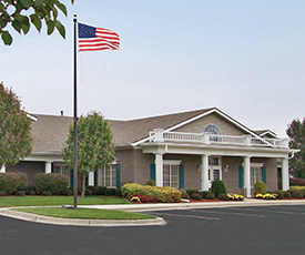 Olathe, Kansas funeral home is built.