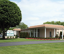 Albany, New York location opens in a remodeled insurance claims office.