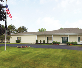 The West Rochester, New York chapel opens.
