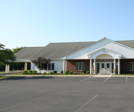 Newcomer Funeral Home is built in Columbus, Ohio.
