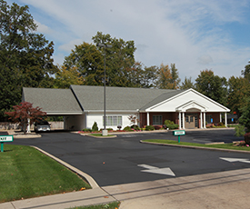 Newcomer Funeral Home is built in Toledo, Ohio.